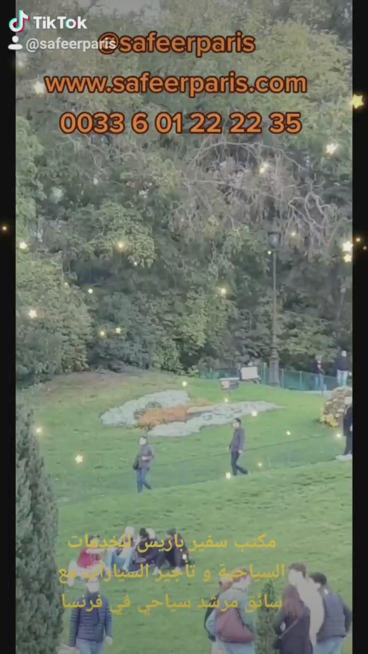 مكتب تأجير سيارات فاخرة مع سائق عربي مرشد سياحي في فرنسا Video Soccer Field Field