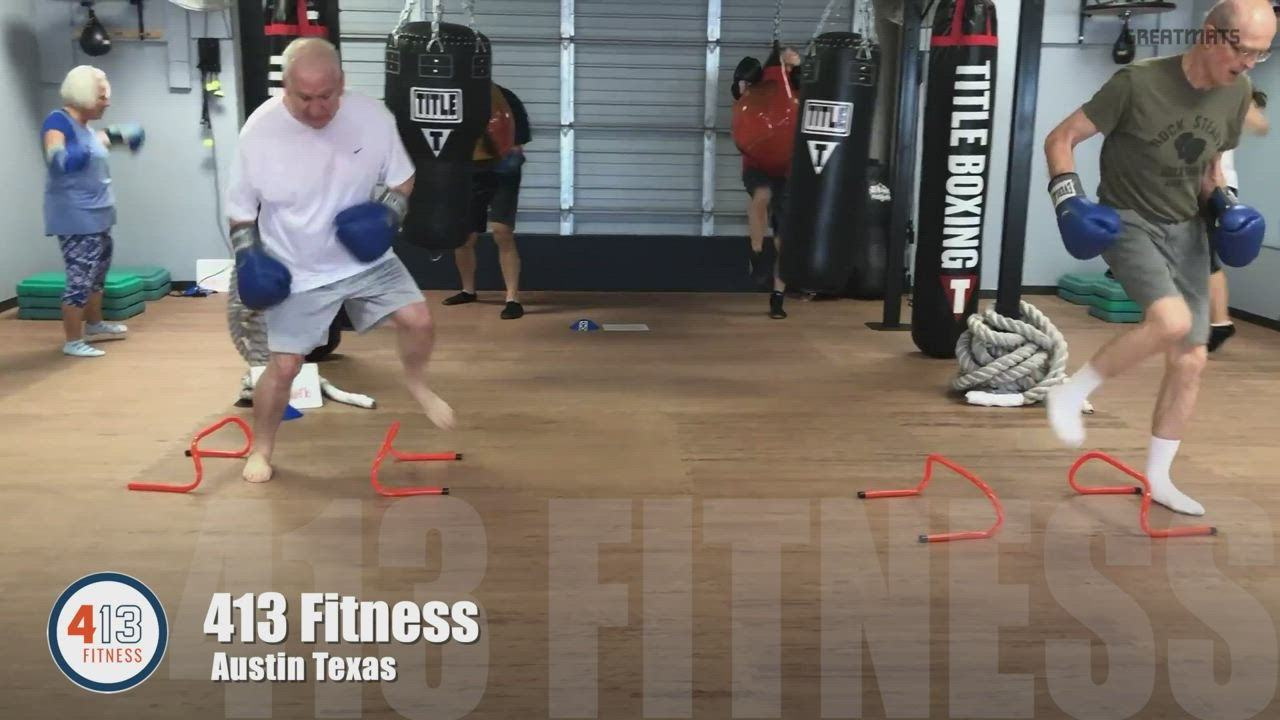 Boxing For Parkinson S At 413 Fitness Over Greatmats Video Video Martial Arts Mats Fitness Parkinsons