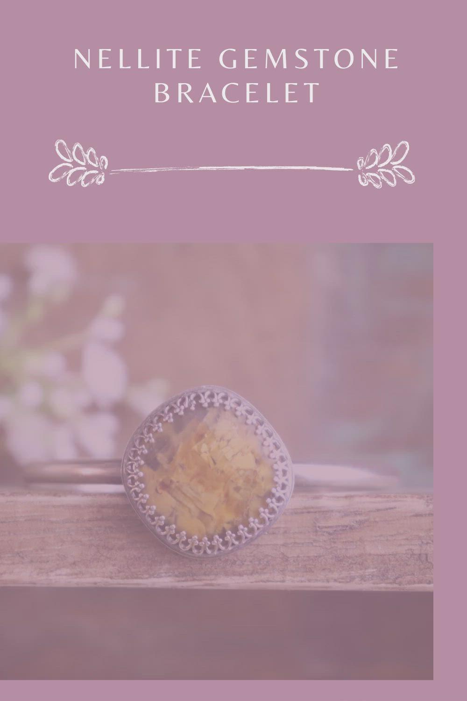 Nellite Gemstone bracelet