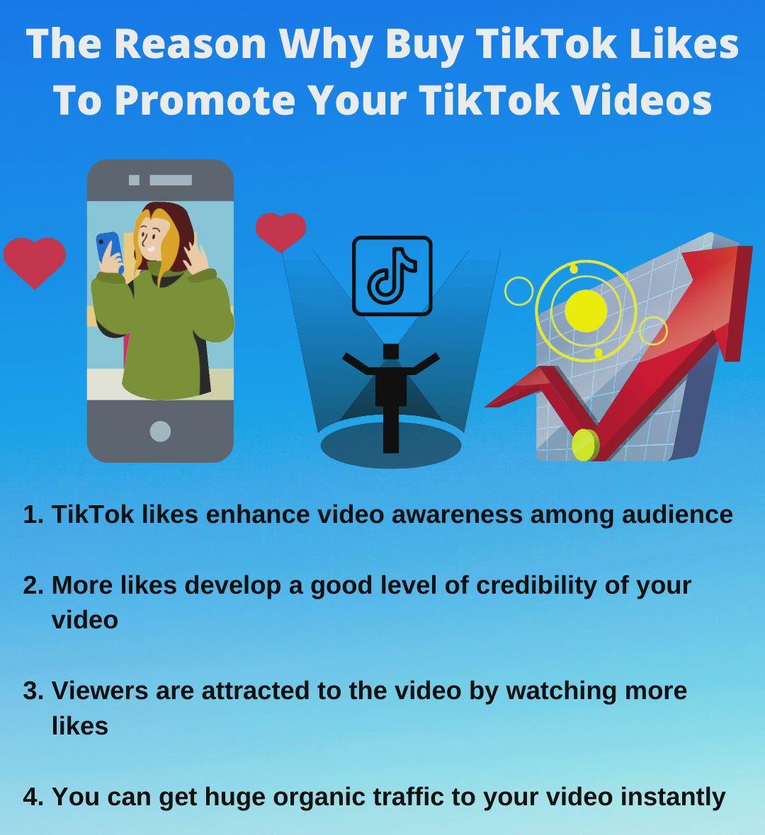 The Reason Why Buy Tiktok Likes To Promote Your Tiktok Videos Video In 2020 Social Media Popular Music Social Media Services