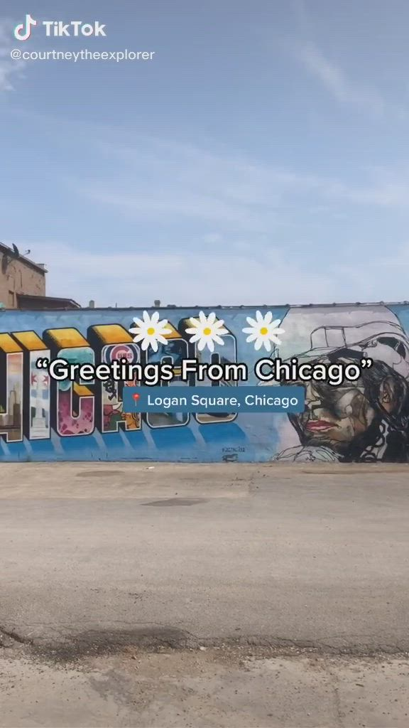 Greetings From Chicago Mural Video Chicago Vacation Chicago Travel Chicago Murals