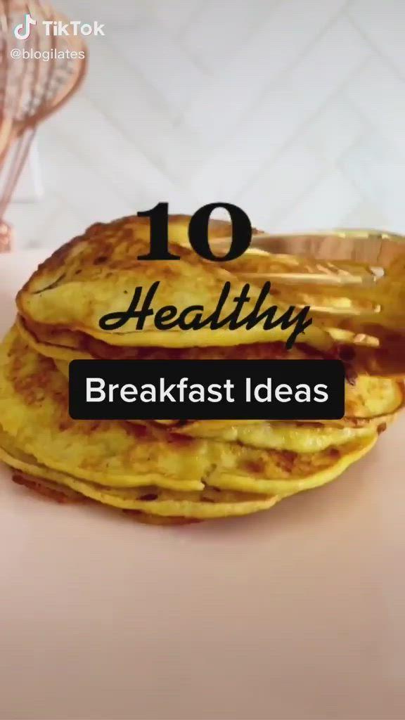 10 Healthy Breakfast Ideas Food Tiktok Video In 2021 Healty Food Healthy Snacks Recipes Fun Baking Recipes
