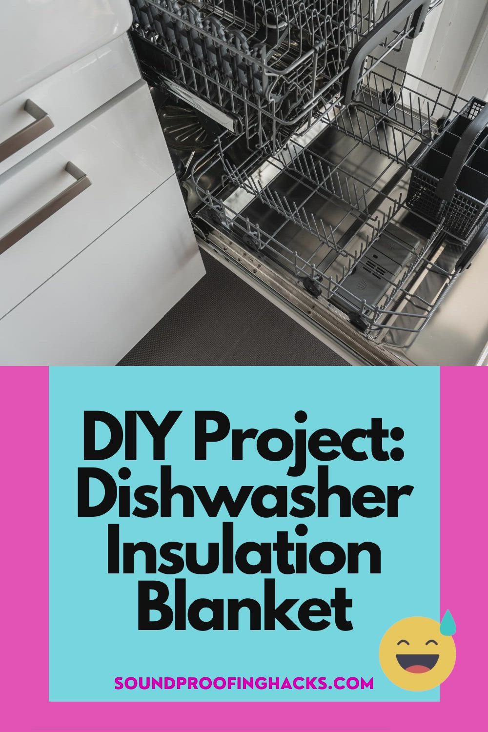 Reduce Dishwasher Noise With An Insulation Blanket Video Blanket Insulation Sound Proofing Insulation