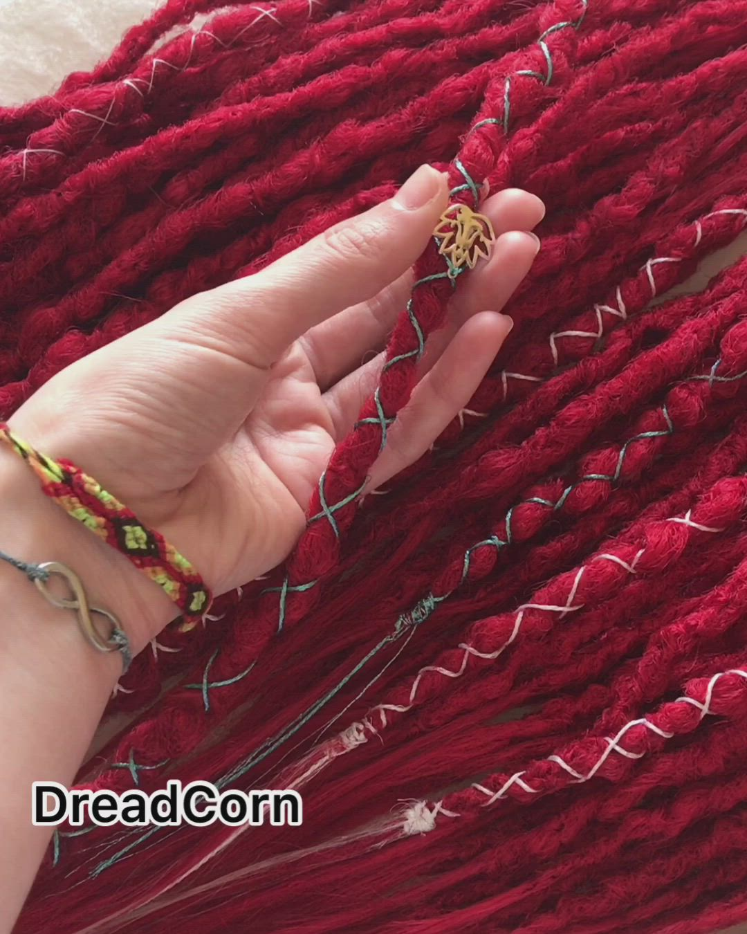 Red Synthetic Dreads Cherry Crochet Dreads Double Ended Dread Etsy Video Video In 2020 Red Synthetic Dreads Synthetic Dreads Crochet Dreads
