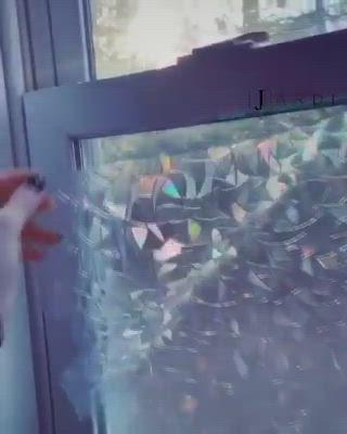 3d Regenbogen Fenster Film Video In 2020 Gotisches Haus Regenbogenhaus Design Fur Zuhause