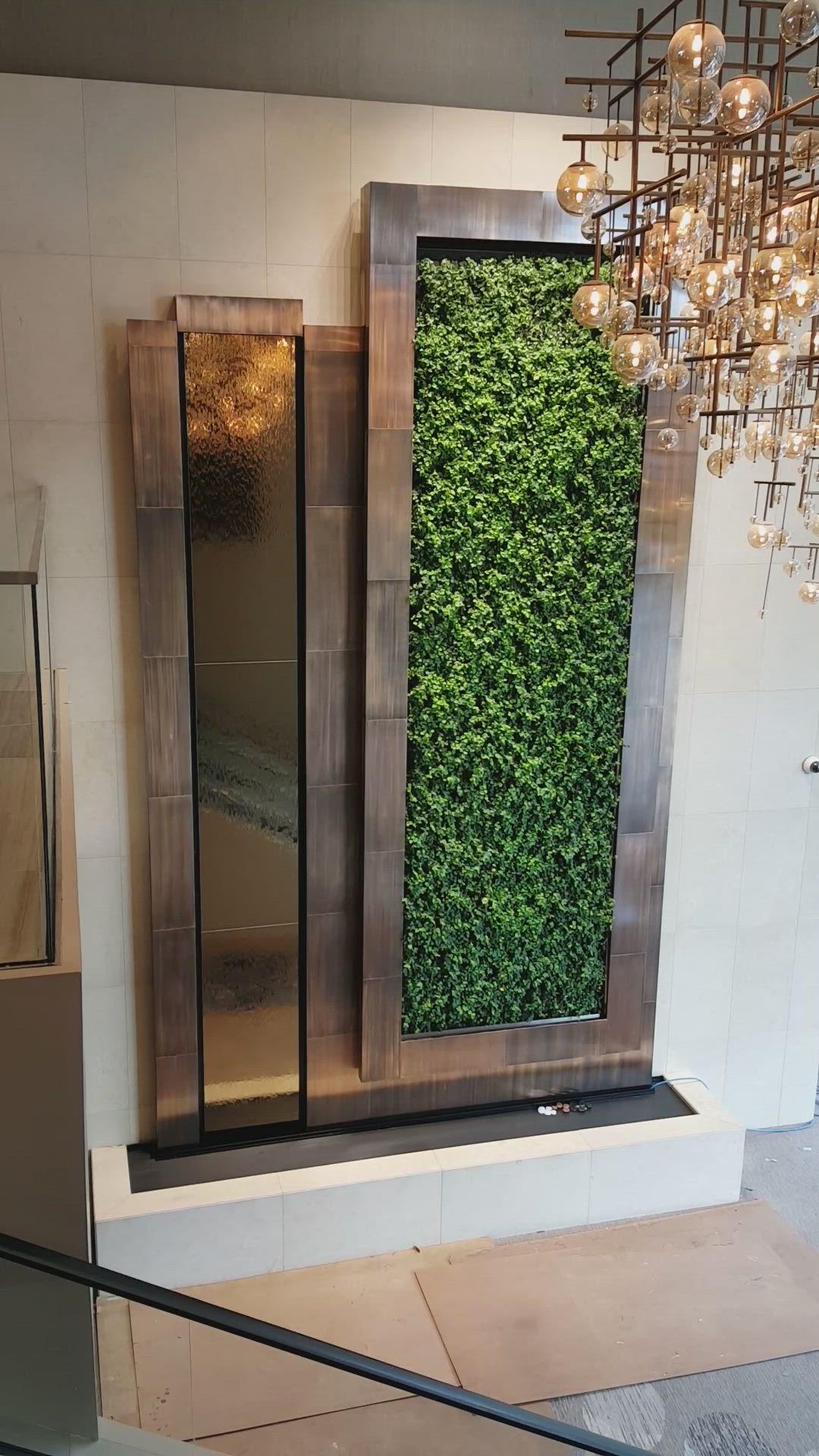 Westin Houston Hotel Houston Tx Video Wall Design Mirror Design Wall Indoor Wall Fountains