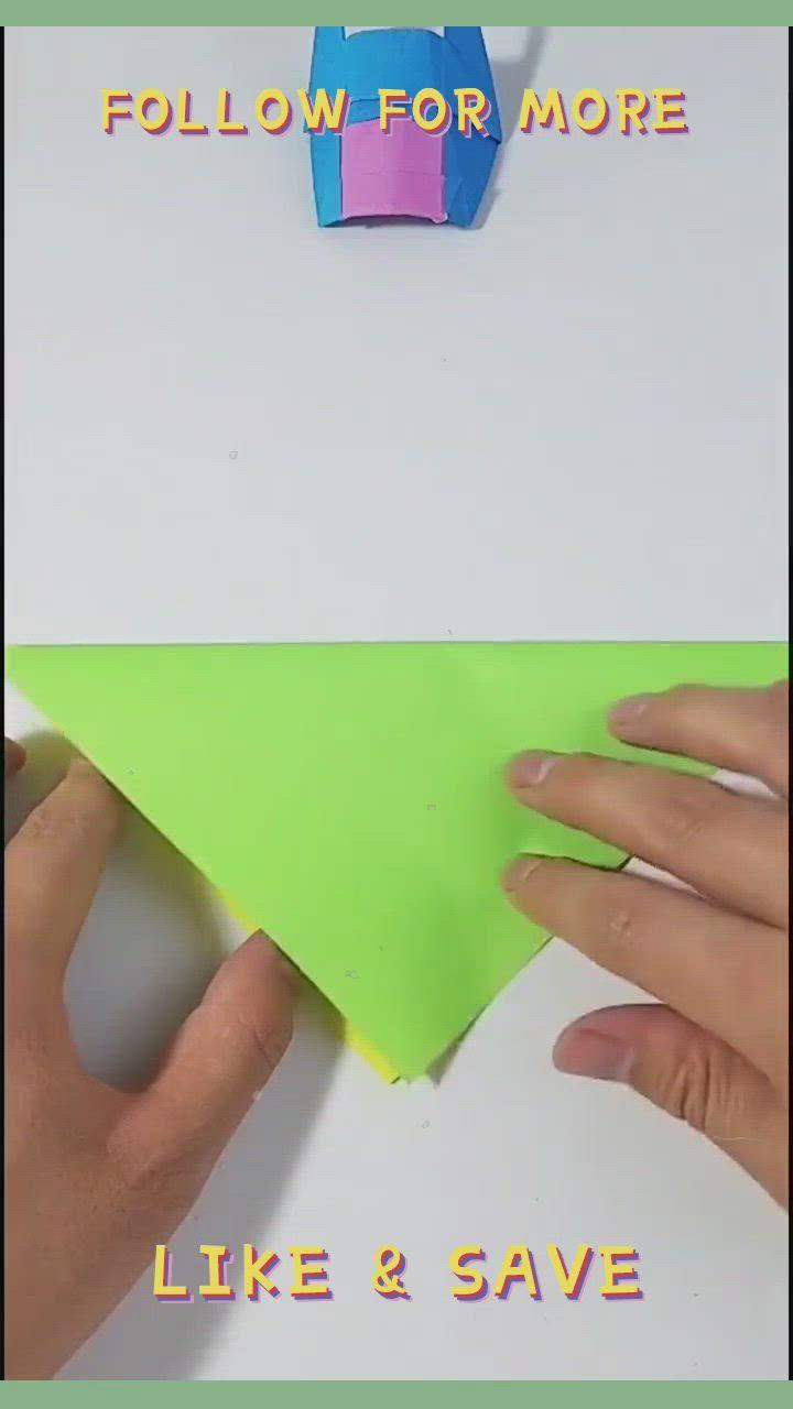 Origami For Kids Origami Mask Tutorial Very Easy Video Em 2021