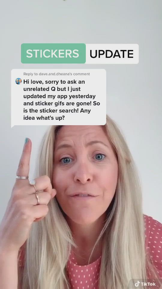 How To Use Stickers On Tiktok Video Small Business Marketing Social Media Content Marketing