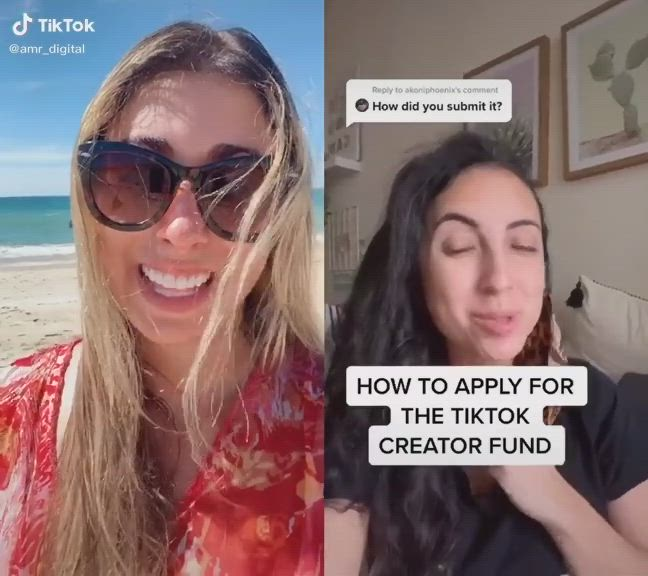 How To Apply For The Tiktok Creator Fund Video Social Media Expert Social Media Information And Communications Technology