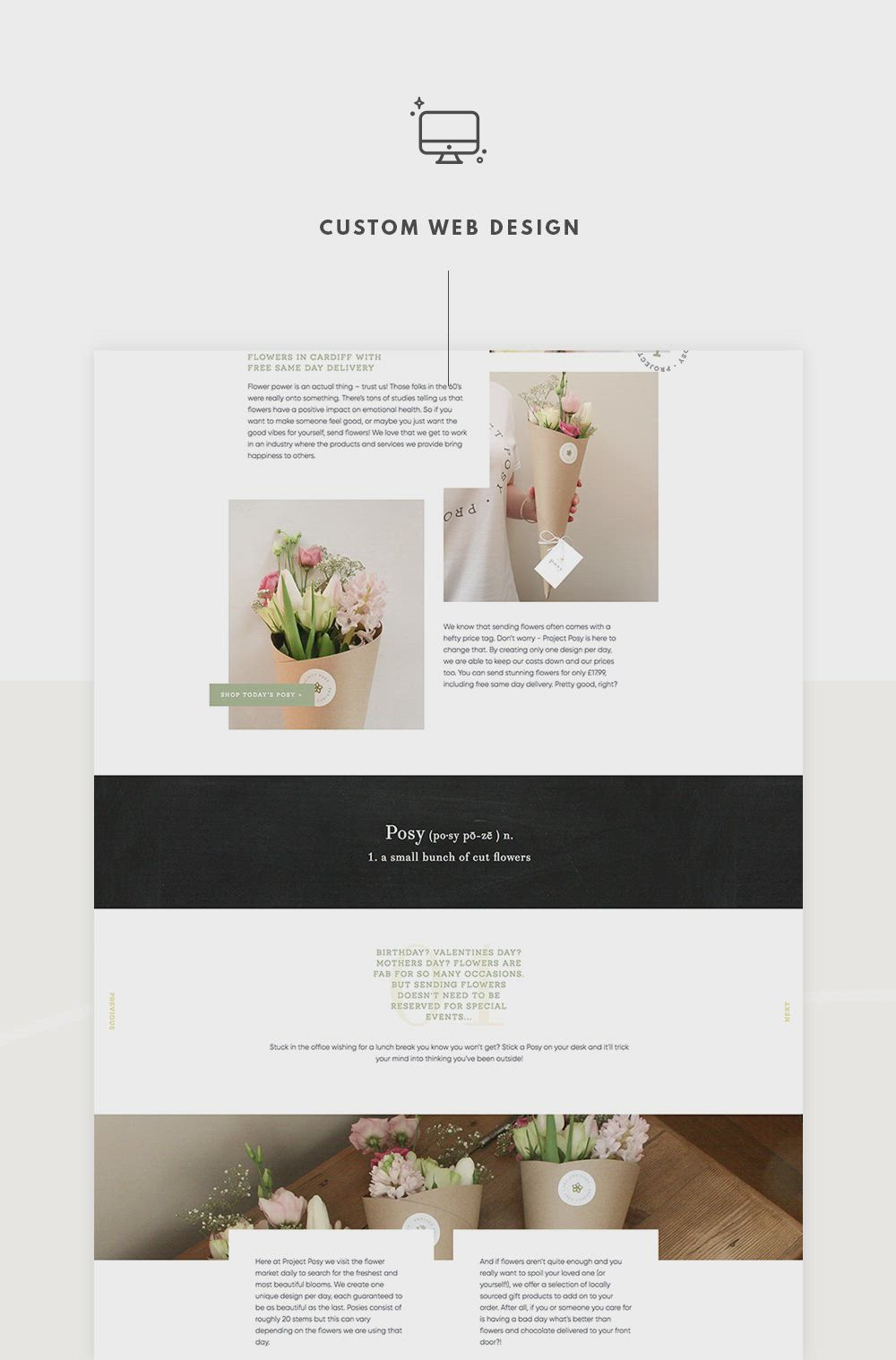 Project Posy Miel Cafe Design Video Video In 2020 Logo Design Inspiration Identity Design Logo Custom Web Design