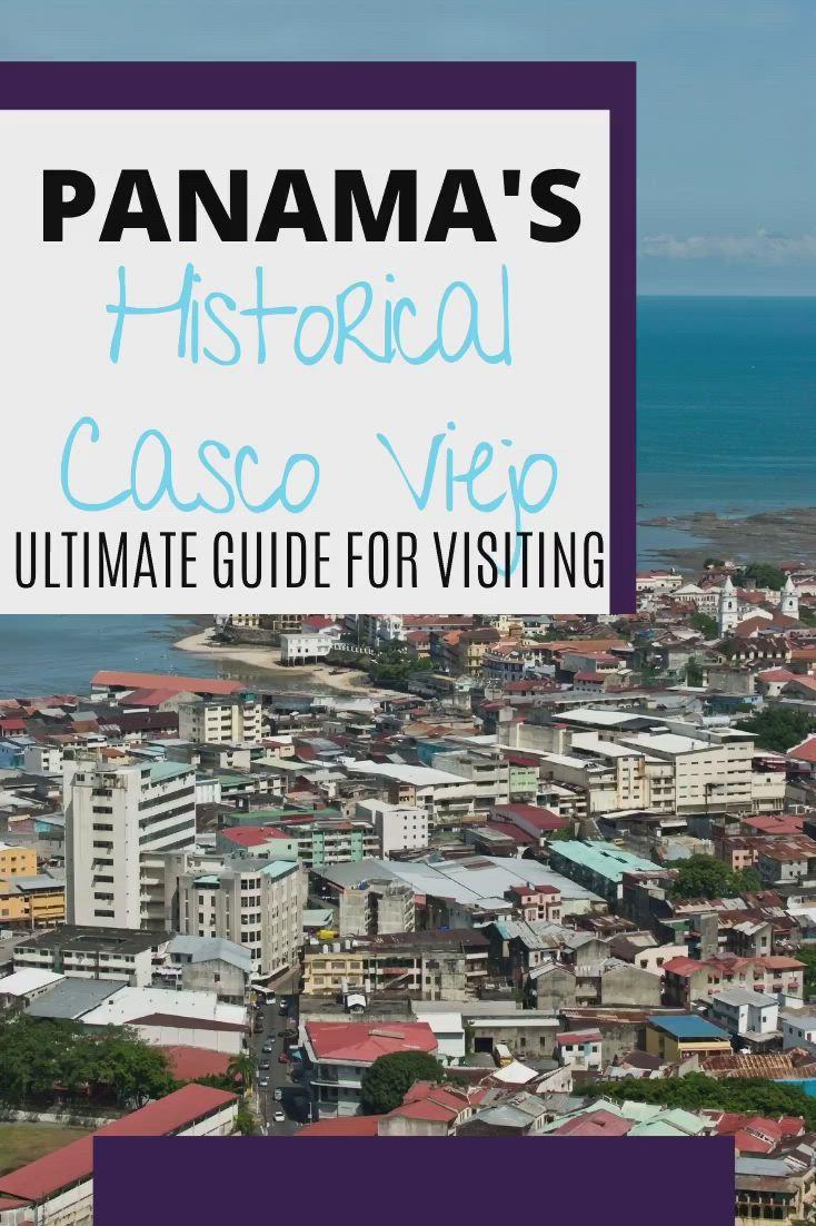 Casco Viejo The Old Panama City Video Panama City Panama Panama Casco
