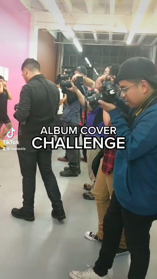 Video Portrait Album Cover Challenge Makeetz Di 2021 Potret Wanita Sampul Album Fotografi Potret
