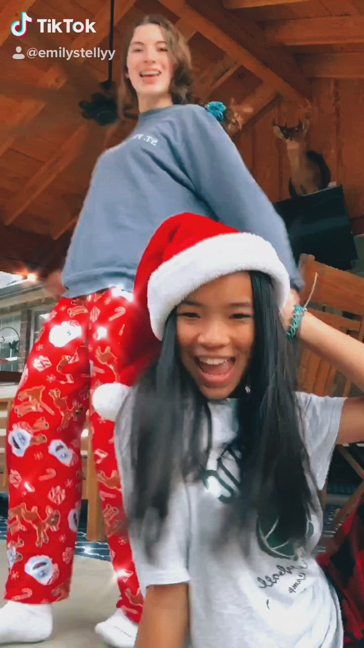 Christmas Tik Tok Dance Video Christmas Dance Bff Christmas Bff Video