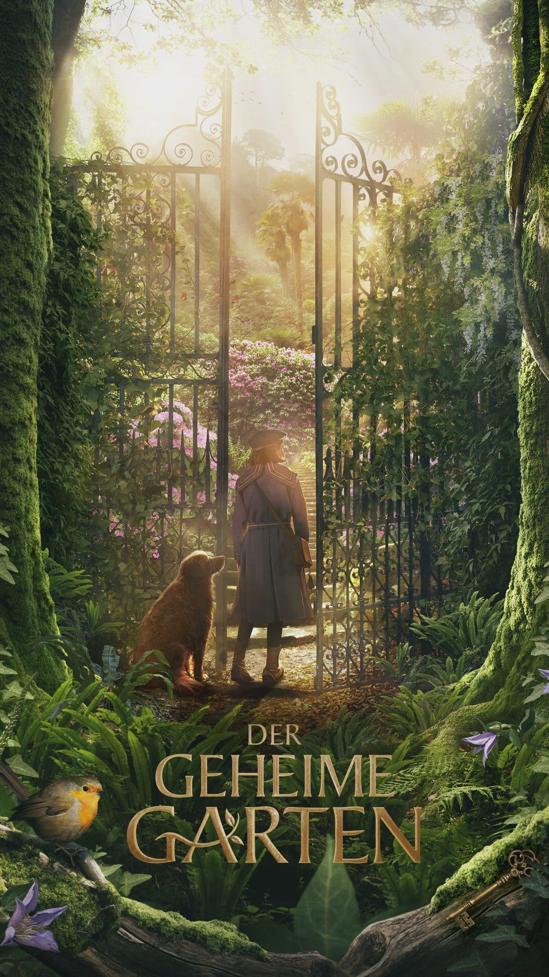 Der Geheime Garten Ab 15 Oktober Im Kino Video In 2020 Geheime Garten Geheimer Garten Coole Filme