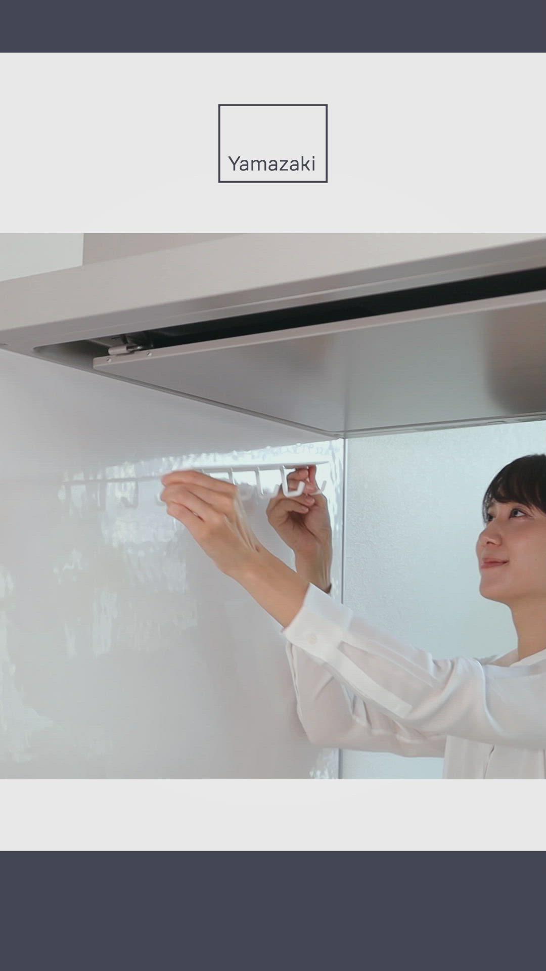 マグネットレンジフードフック タワー 動画 インテリア 家具 インテリア 収納 住宅設計プラン