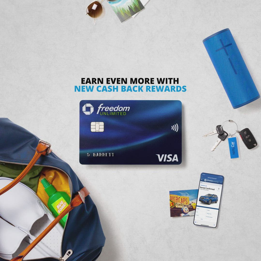 5 Cash Back On Travel Through Chase Video In 2021 Chase Freedom Social Media Insights Money Cash