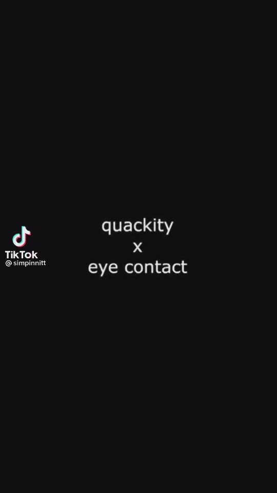 Eye Contact With Quackity Video In 2021 My Dream Team Dream Friends Im Losing My Mind