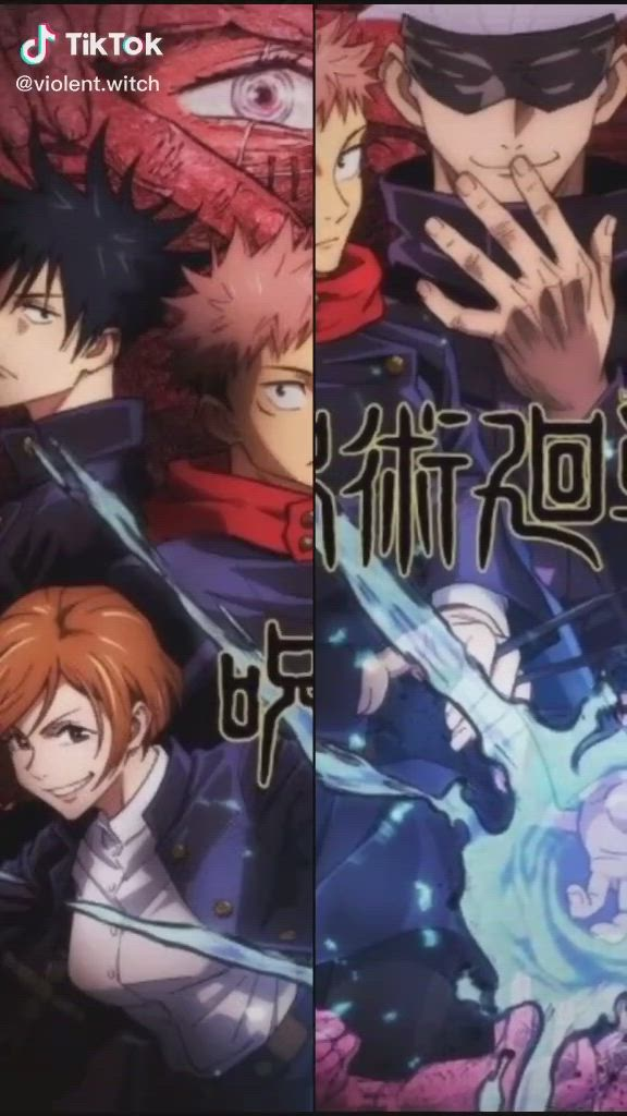 Jujutsu Kaisen Video Anime Anime Wall Art Jujutsu
