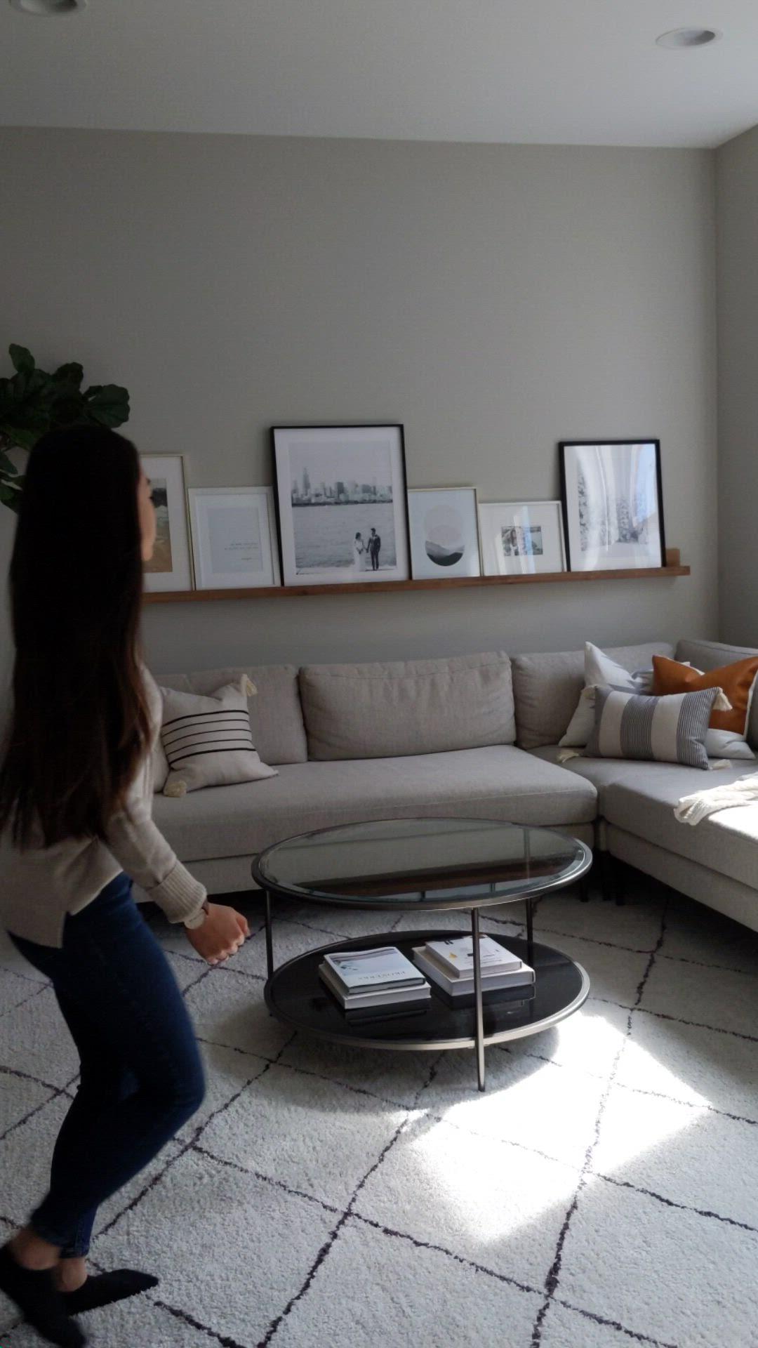 Our Modern And Minimal Living Room Viv Tim Video Video Living Room Decor Apartment Minimalist Living Room Apartment Ikea Living Room Living room vs bedroom